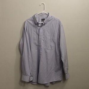 Jos.A Bank Dress shirt XL Blue Striped